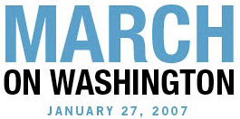 January 27, 2007 March on Washington Image